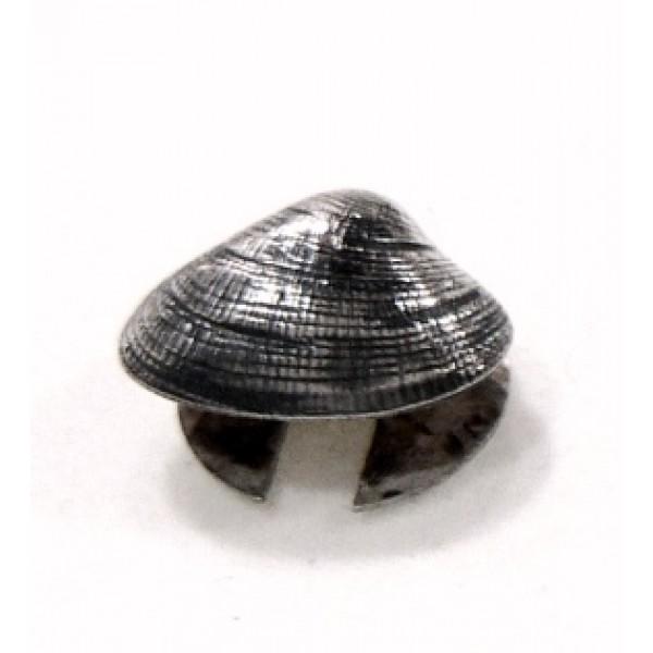 insignia almeja plata