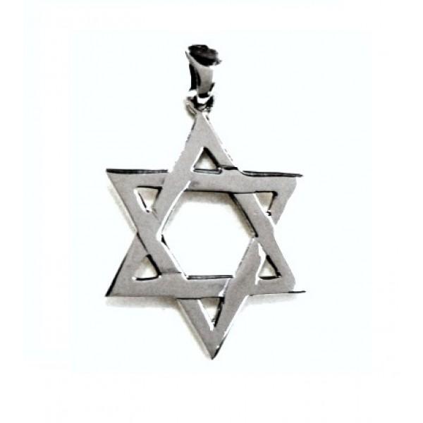 Estrella de David plata 1